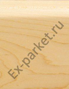 Деревянный плинтус массивный Magestik Floor Клён Канадский (прямой)