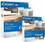 Варианты упаковки порога Cezar, 3 и 6 метров