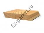 Планкен скошенный (косой) из лиственницы